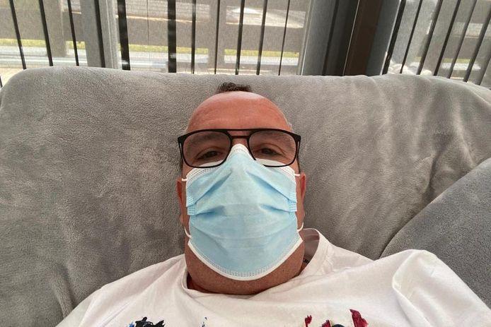 Chef Wim Van Damme (52) van restaurant Gozar in Erpe werd net voor de heropening van de horeca geveld door het coronavirus.
