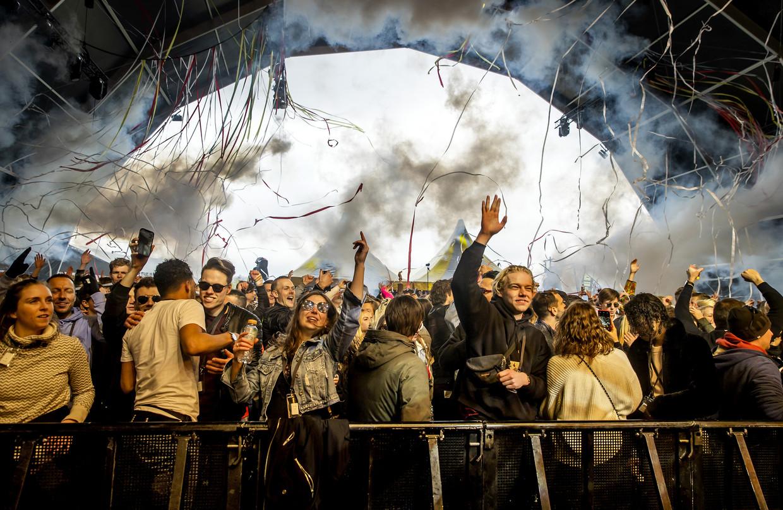 Een proeffestival in Nederland, eerder dit jaar Beeld ANP