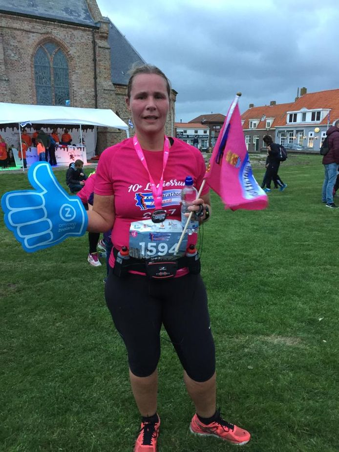 Esther van der Heijden liep vorig jaar de Ladiesrun.