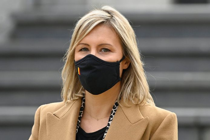 Ludivine Dedonder, ministre de la Défense.
