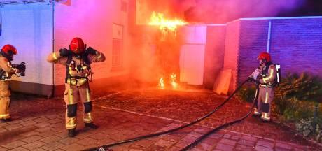 Brandschade bij café de Bommel in Valkenswaard