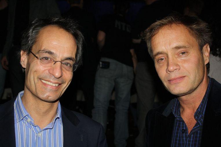 Journalisten Michiel Bicker Caarten (oprichter BNR) en Max Westerman begonnen beiden 30 jaar terug bij RTL.<br /> Beeld null