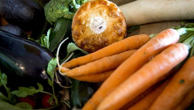Start-up GrowX gaat jaarlijks voor 180 ton aan saladegroenten en kruiden verbouwen Beeld anp