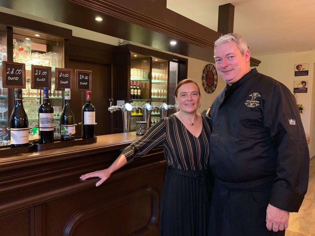 Brasserie 17 - Jurgen Willems en Valerie Bohez