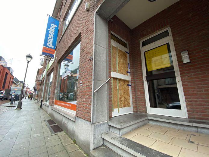 Droogkuis Pressing in Lier, waar de feiten plaatsvonden.