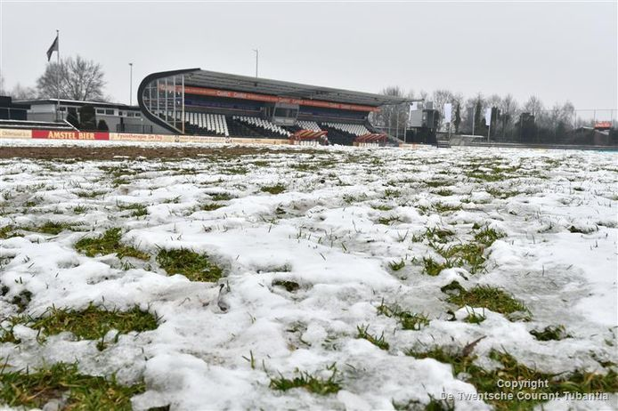 De winterstop in het amateurvoetbal lijkt nu al te zijn ingegaan.
