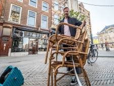 De Sjees wil houten terrasvlonder redden: 'Haal je alles uit kast om nog iets van jaar te maken, krijg je dit'