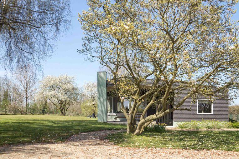 Een uniek vakantiehuis in de Vlaamse Ardennen door architectenbureau Murmuur.  Beeld © Laure-Anne Herpoel