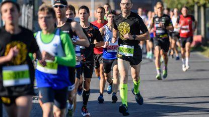 Bosmarathon viert jubileum met recordopkomst: 1.100 lopers