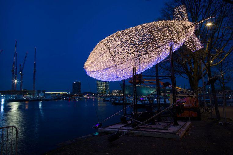 Big Bang. Beeld Amsterdam Light festival