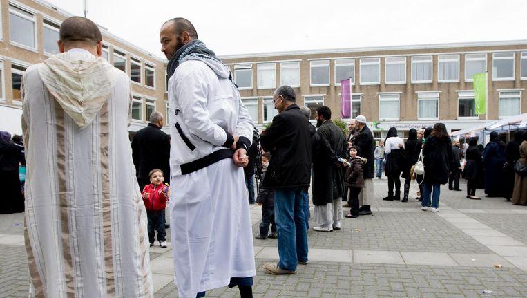 Het Islamitisch College Amsterdam (ICA) in Nieuw-West sloot in 2010 vanwege wanbeleid en slecht onderwijs. Beeld anp