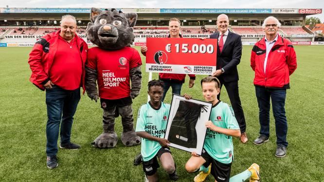 Supportersvereniging Helmond Sport steekt duizenden euro's in opleiding: 'Pakken het serieus aan'