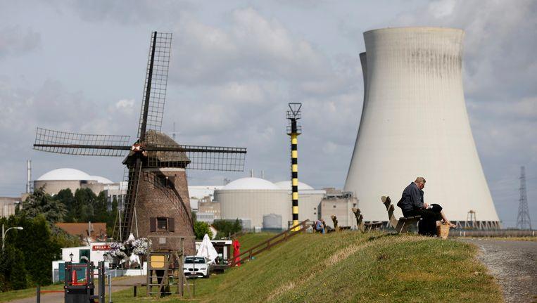 Het nucleaire complex in het Vlaamse Doel, vlak bij de Nederlandse grens. Beeld REUTERS