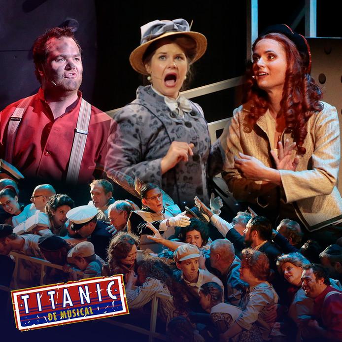 Titanic de Musical, door het Brabants Muziek-Theater.