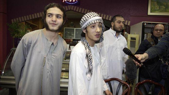 Leden van de radicale beweging Sharia4Holland, juni 2012