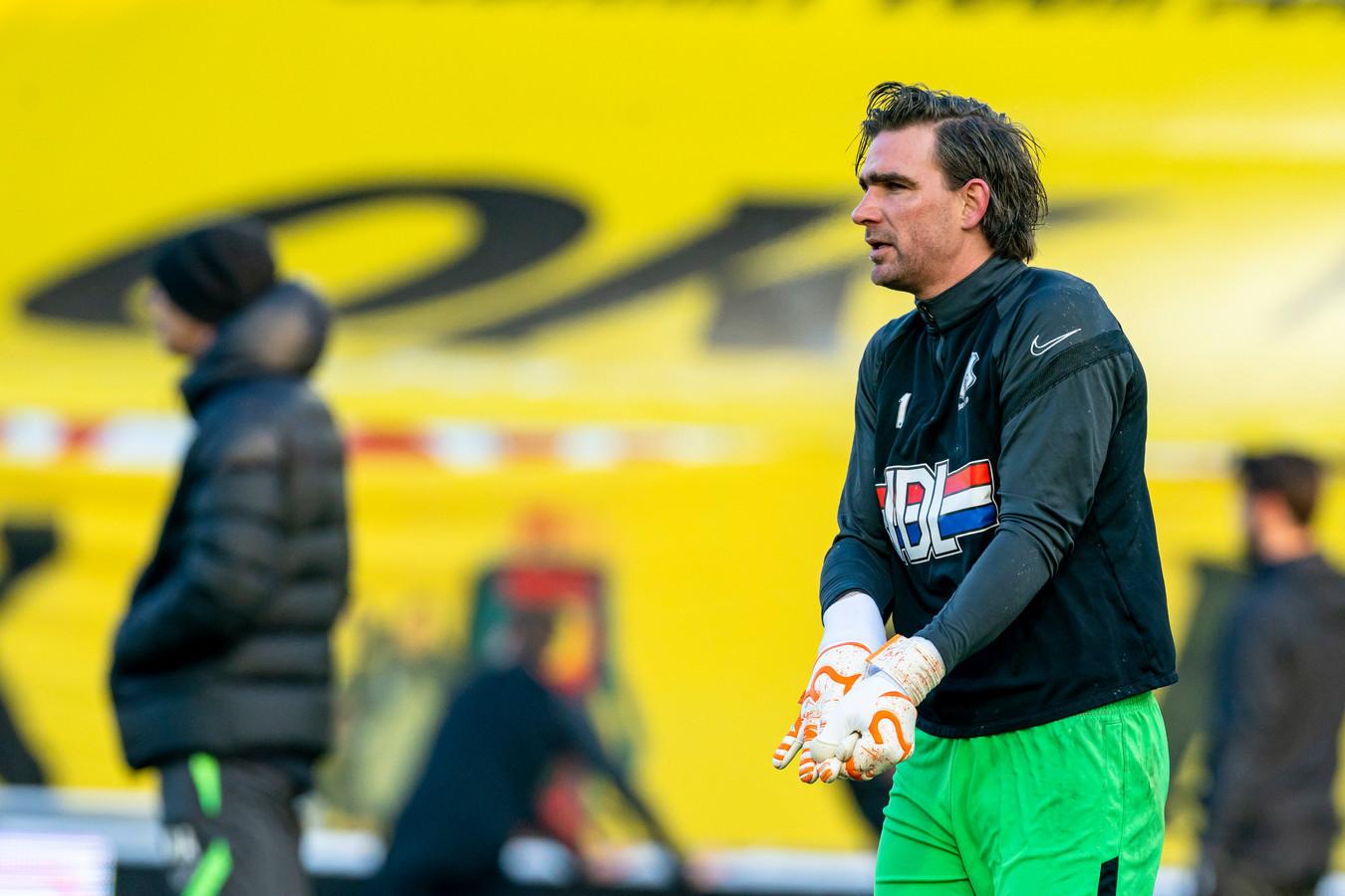 Ruud Swinkels in het tenue van FC Eindhoven, dat hij in totaal negen seizoenen droeg.