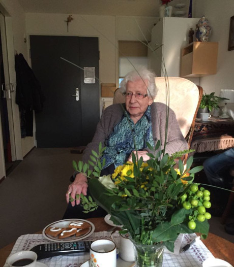 Udenhoutse Liza van Doveren weet wat genieten is, al honderd jaar