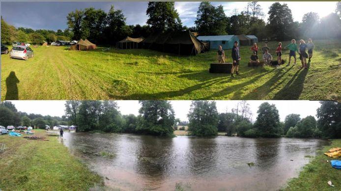 Voor en na het kamp.