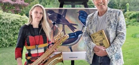 Frank en Inga geven openluchtconcert met wilde vogels