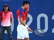Djokovic grijpt in strijd om het brons naast medaille