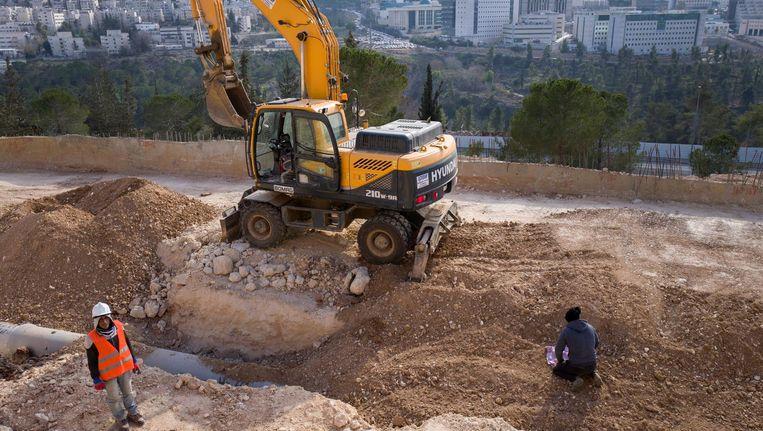De bouw van de nieuwe huizen is direct van start gegaan. Beeld null
