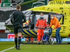 Elaya (10) bracht de bal naar het stadion in de traumahelikopter: een onvergetelijke dag