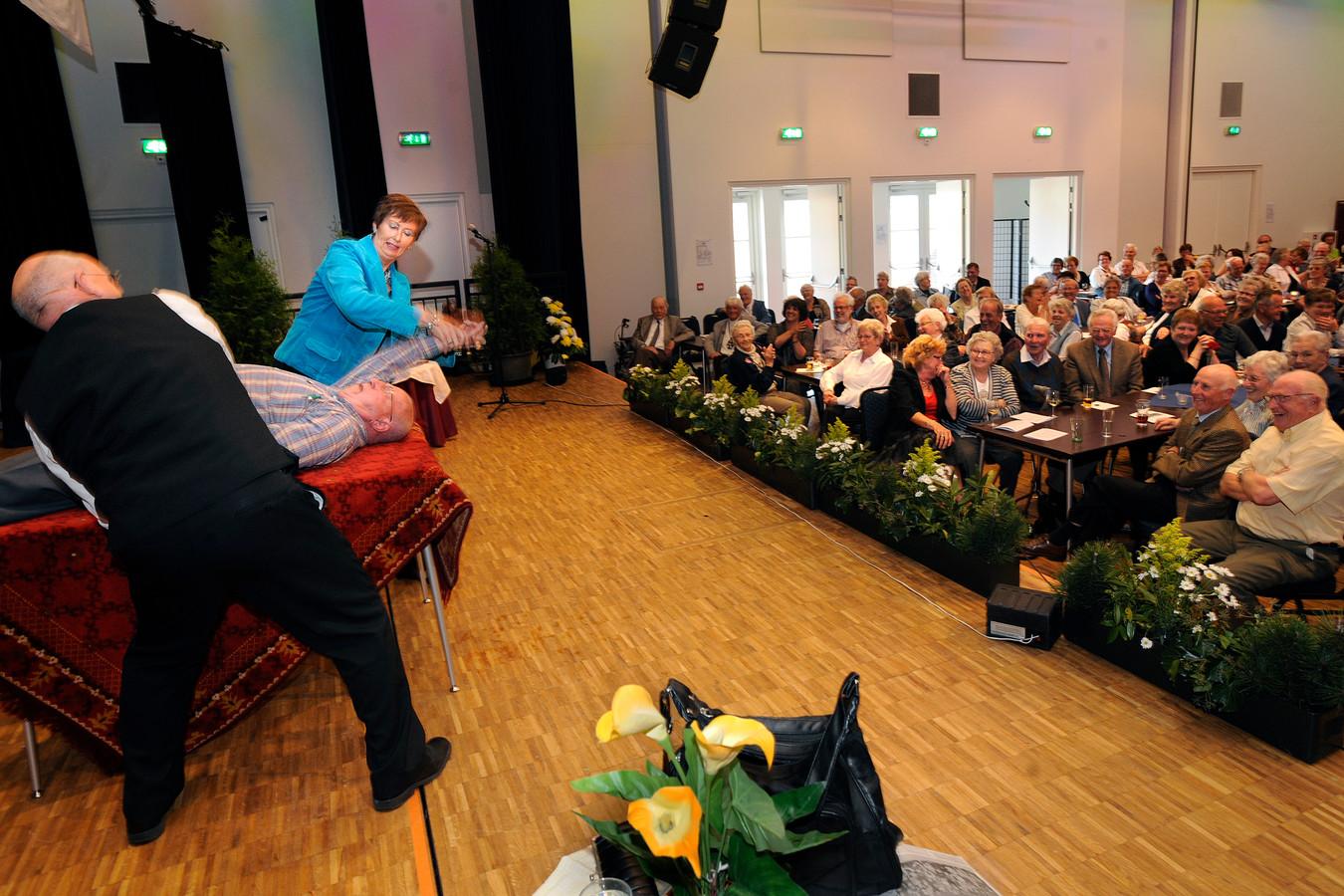 Toneelvoorstellingen zaten er vorig jaar ook in Den Boogaard niet in.