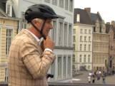 """Koning Filip maakt fietstochtje door Gent met zijn gezin: """"Een beetje sporten doet deugd"""""""