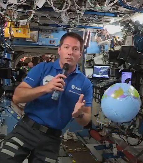 """Thomas Pesquet a """"retrouvé ses habitudes"""" sur l'ISS: """"C'est un peu ma deuxième maison"""""""