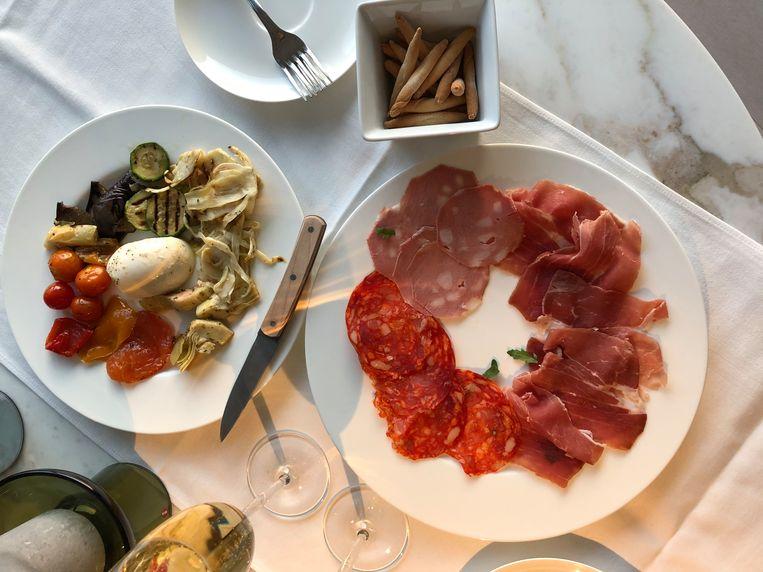 Restaurant Pici op de Antwerpse Dageraadplaats: 'Gewoonweg top'. Beeld rv