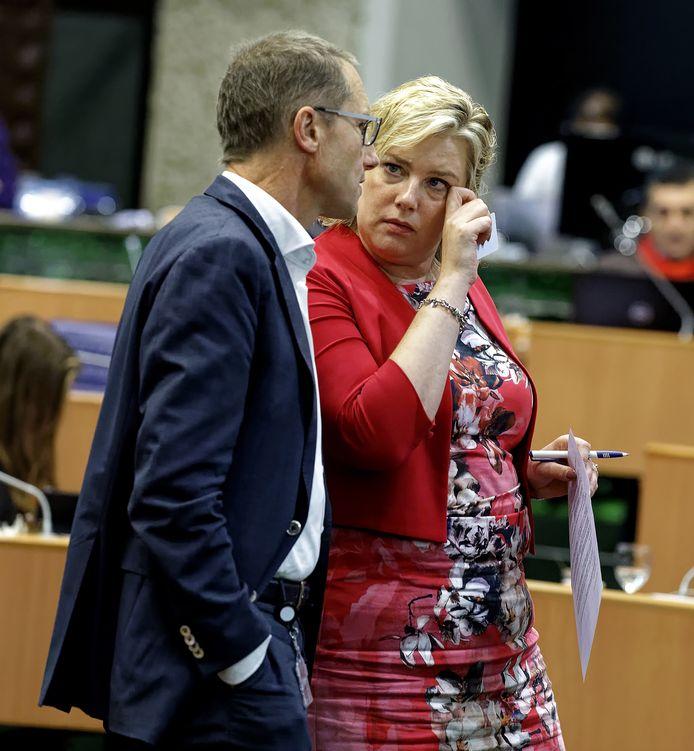 CDA-statenleden Kees de Heer en Ankie de Hoon (fractievoorzitter).
