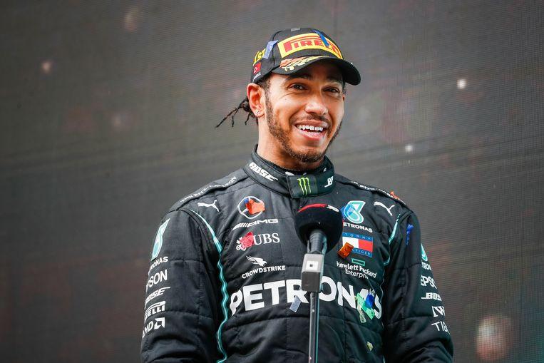 Lewis Hamilton werd half november voor de zevende keer wereldkampioen. Beeld Photo News