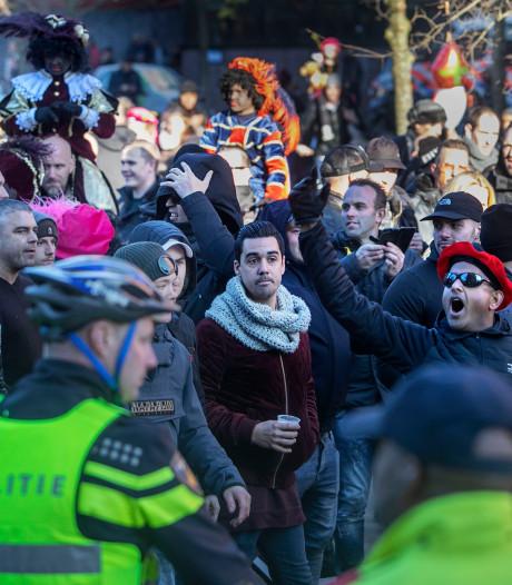 Weer zes mannen uit Eindhoven opgepakt na rellen tijdens demonstratie Kick Out Zwarte Piet
