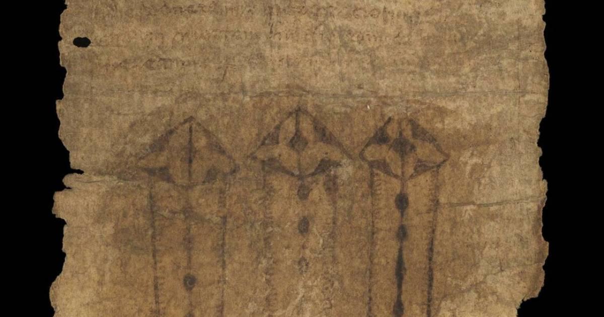 Un étrange parchemin ressurgit du Moyen Âge | Sciences - 7sur7