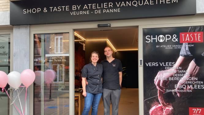 Veurnse slager Vanquaethem opent in De Panne automatenshop in voormalig tramstation