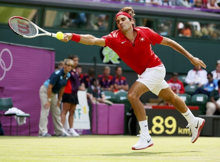 Roger Federer. Beeld reuters