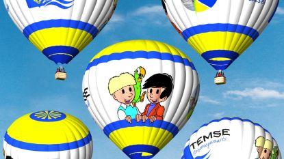 Met Jommeke de lucht in: Temse krijgt eigen luchtballon