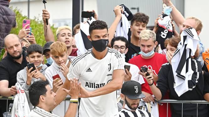 Ronaldo warm onthaald in Turijn voor afleggen medische tests, transfer van de baan?