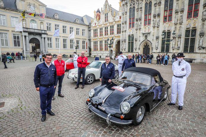 De Zoute GP trekt dit jaar ook door Brugge. Iedereen kan de prachtige wagens komen bewonderen.