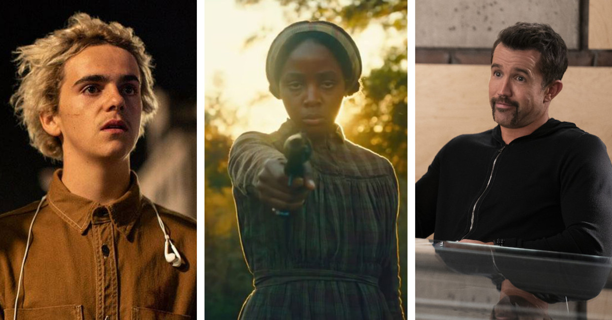 'We are who we are', 'The Underground Railroad', 'Mythic Quest' Beeld Humo