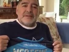 Diego Maradona félicite Dries Mertens, meilleur buteur de l'histoire de Naples