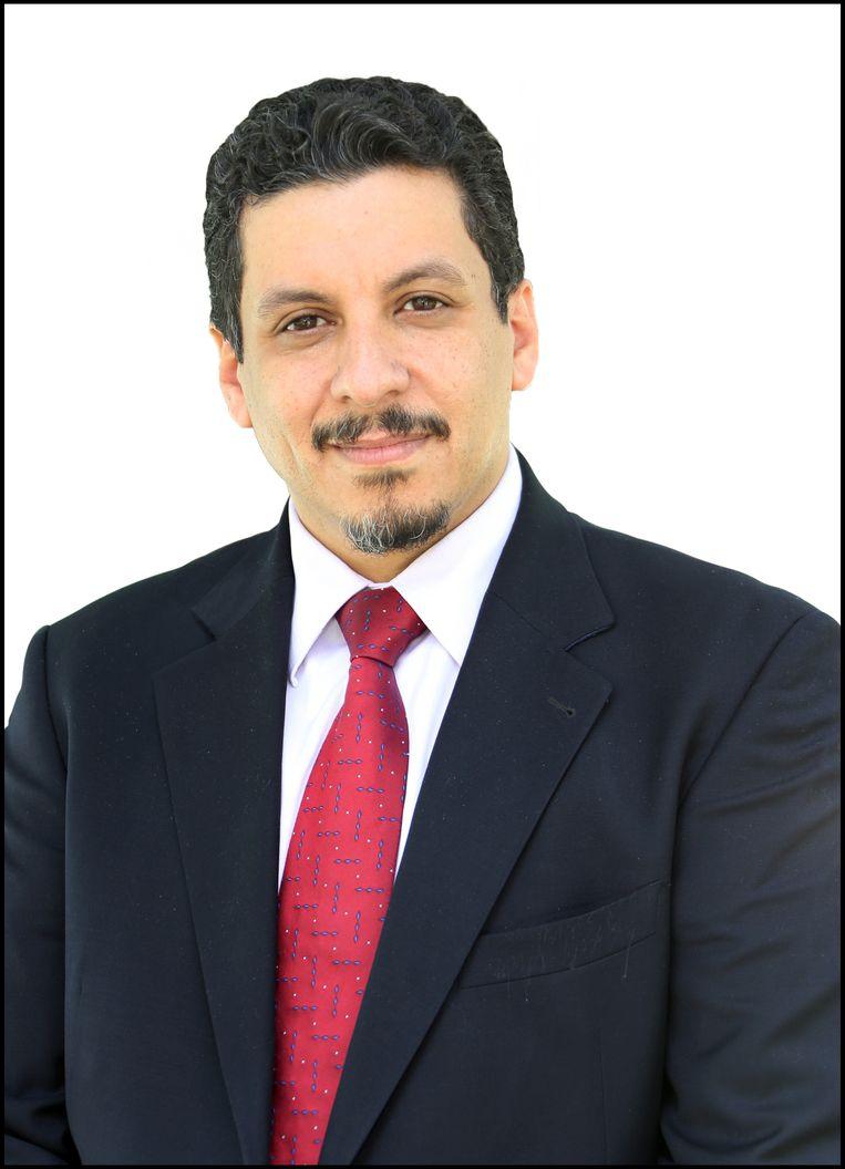 Ahmed Awad Mubarak bij zijn aantreden als minister van Buitenlandse Zaken in 2014. Beeld BELGAIMAGE