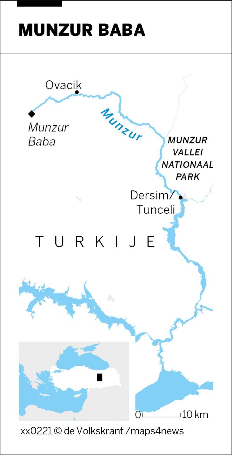 Munzur Baba. Beeld Volkskrant Infographics