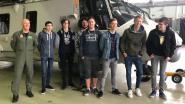 Leerlingen elektriciteit van Atlas Atheneum Gistel bezoeken 40ste eskader in Koksijde