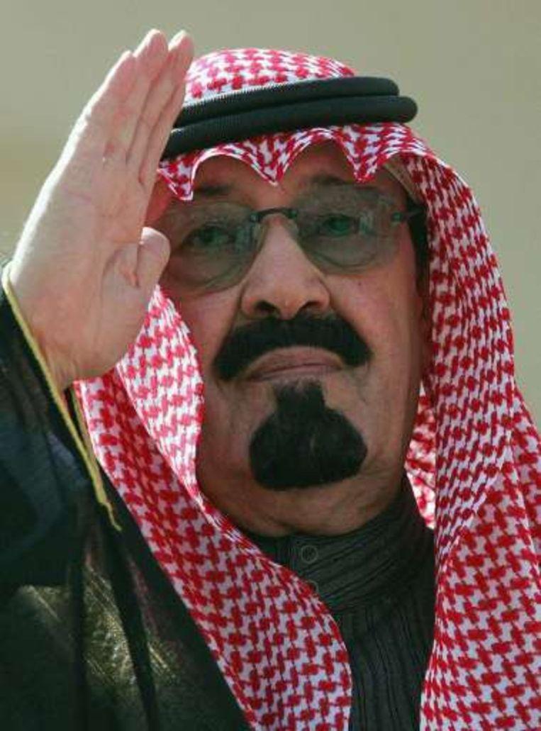 Koning Abdullah van Saoedi-Arabië. Beeld UNKNOWN
