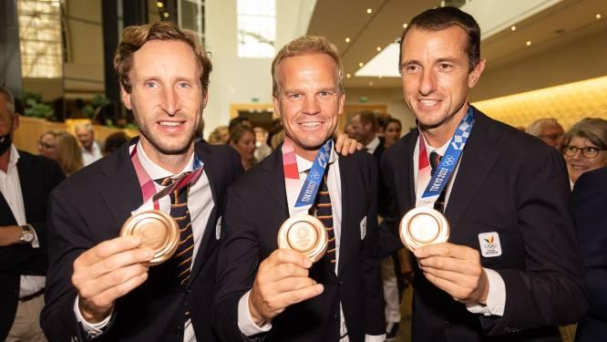 Les derniers olympiens accueillis sous les applaudissements à Zaventem