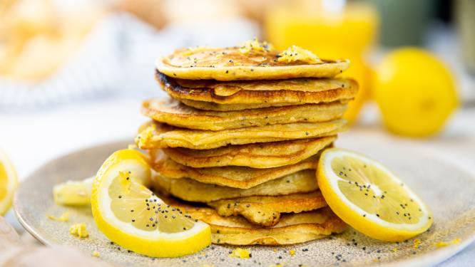 Wat Eten We Vandaag: Citroen-maanzaad pancakes