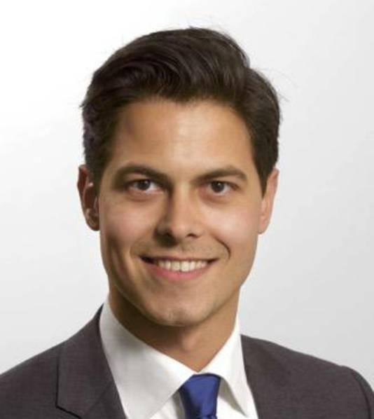 Rob Jetten, fractievoorzitter D66 Nijmegen..