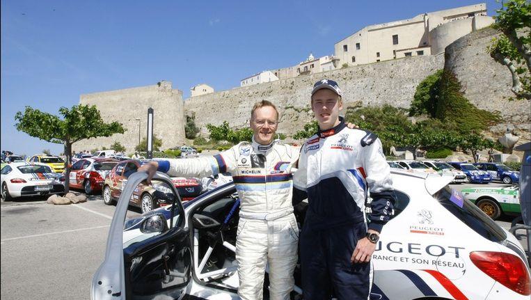 Ari en Max Vatanen. Beeld PHOTO_NEWS