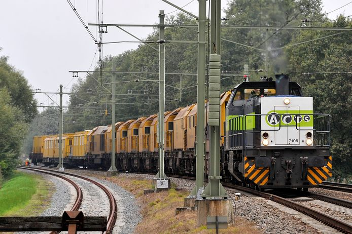 Door de coronacrisis nam het goederenvervoer per spoor in 2020 flink af en daarmee ook de geluidsoverlast voor veel aanwonenden.